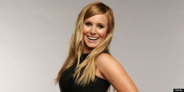 NASHVILLE, TN - JUNE 05:  Host Kristen Bell poses at the Wonderwall portrait studio during the 2013 CMT Music Awards at Bridg