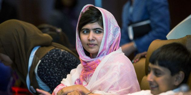 NEW YORK, NY - JULY 12:  Malala Yousafzai, the 16-year-old Pakistani advocate for girls education who was shot in the head by