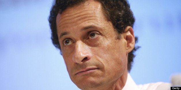 NEW YORK, NY - JULY 11:  New York City Mayoral candidate Anthony Weiner attends the Council of Senior Centers and Services of
