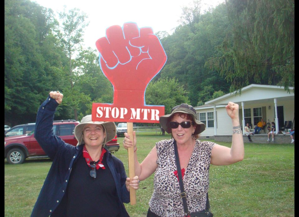 "Filmmakers Beth Stephens (left) and Annie Sprinkle shine the light on Mountain Top Removal in West Virginia in <a href=""http:"