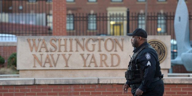 WASHINGTON, DC - SEPTEMBER 17:  The Washington Navy Yard is seen on Tuesday September 17, 2013 in Washington, DC.  A mass sho