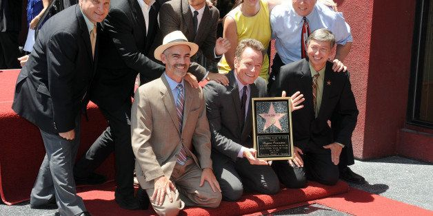 HOLLYWOOD, CA - JULY 16:  Bryan Cranston Honored witha Star On The Hollywood Walk Of Fame on July 16, 2013 in Hollywood, Cali