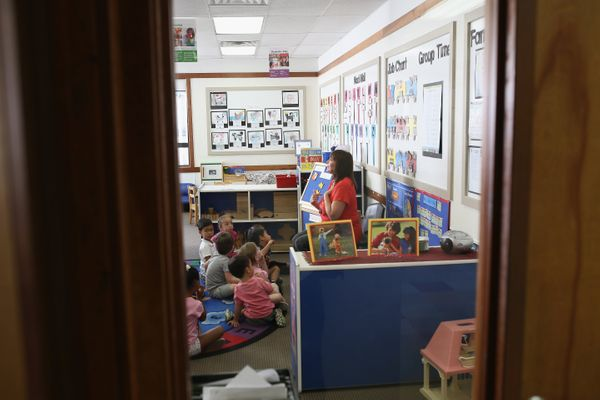 In the United States, many respondents said they thought teachers were paid too much.