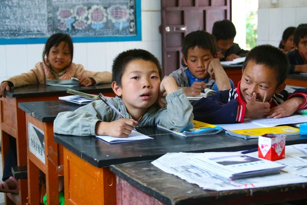 In China, teachers are held in the same esteem as doctors.