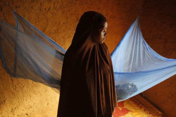 Child marriages are on the rise due to an increase in global poverty and crises, meaning they're less likely to finish school