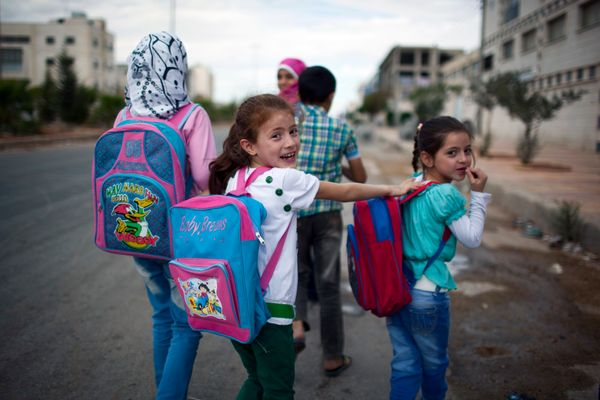Refugee children are particularly vulnerable to exploitation. In Syria, specifically, child refugees children who have been d