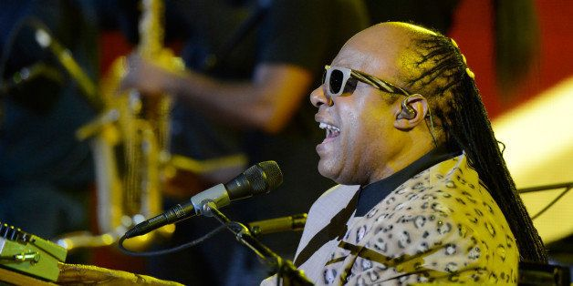 NEW YORK, NY - SEPTEMBER 28:  Stevie Wonder performs at the 2013 Global Citizen Festival in Central Park to end extreme pover