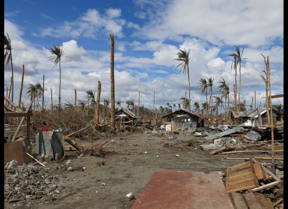 Typhoon Haiyan virtually flattened many neighborhoods where Opportunity International clients and staff live in Tacloban. Wit