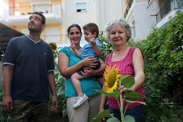 More than 20 percent of the Greek government is comprised by women.