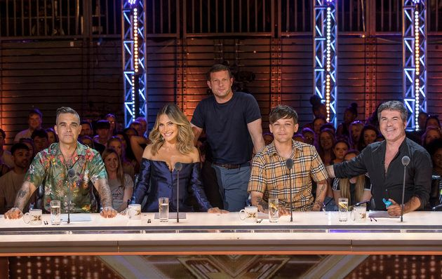 This year's 'X Factor' judges and host Dermot O'