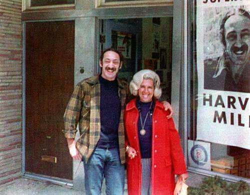 """""""If a bullet should enter my brain, let that bullet destroy every closet door."""" -Harvey Milk  The first openly gay elected of"""