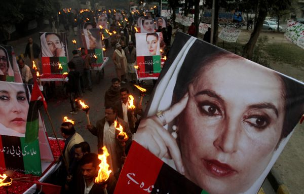 """Despite threats of death, I will not acquiesce to tyranny, but rather lead the fight against it."" -Benazir Bhutto   While sh"