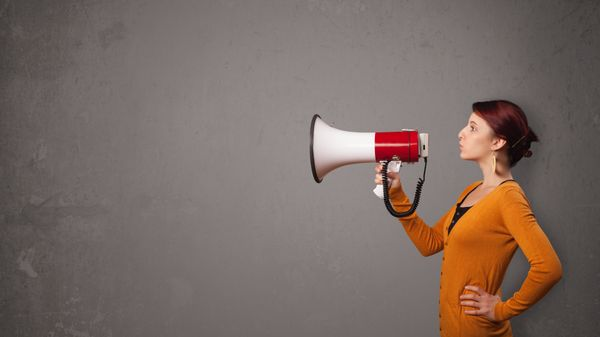 You might want to keep the bullhorn out of the bedroom, but any activist worth her salt won't need one.