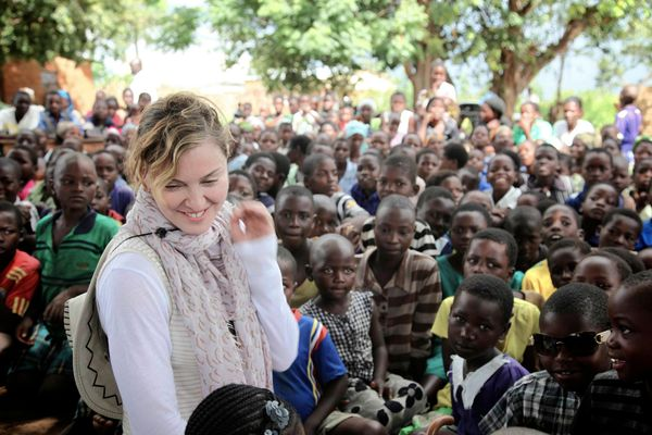 "In 2013, Madonna opened several community schools in Malawi. According to the Associated Press, <a href=""http://www.huffingto"