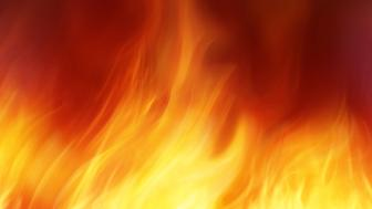 abstract fire background for your project