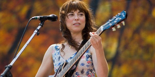 KANSAS CITY, KS - AUGUST 13:  Rebecca Pidgeon performs during Farm Aid 2011 at the LiveStrong Sporting Park on August 13, 201