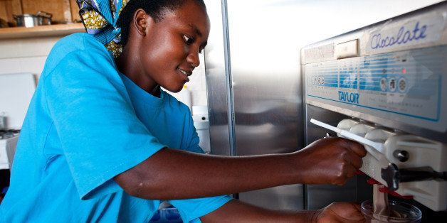 These Women Are Breaking Gender Barriers At Rwanda's 1st Female-Run Ice Cream