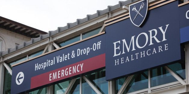 ATLANTA, GA - AUGUST 01:  Emory University Hospital is seen on August 1, 2014 in Atlanta, Georgia.  Officials with the hospit