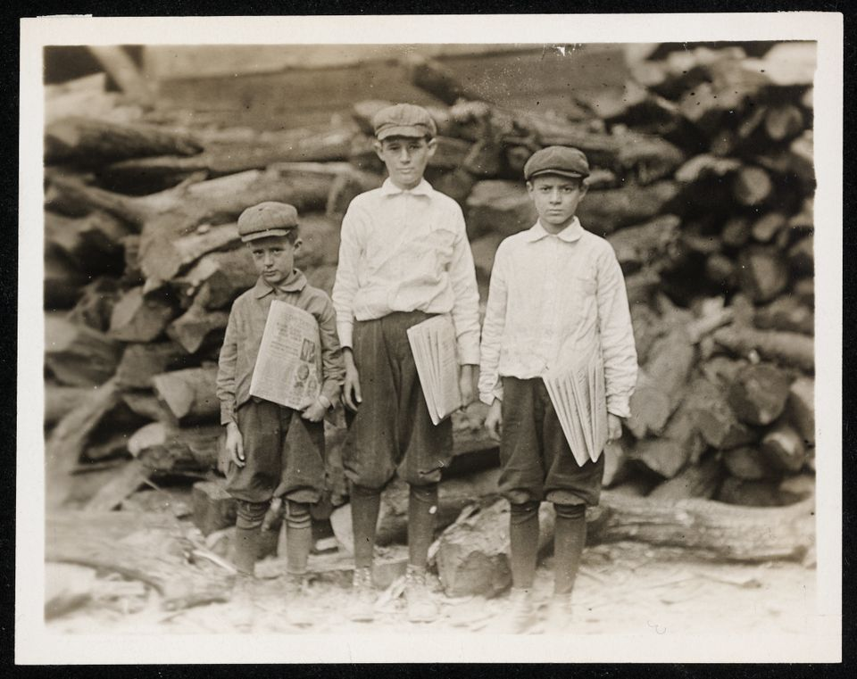 """The new child labor law making the willful employment of children under the age of fourteen years a misdemeanor.. will be fo"