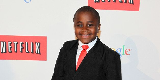 WASHINGTON, DC - MAY 02:  'Kid President' Robby Novak walks the red carpet at Google/Netflix White House Correspondent's Week