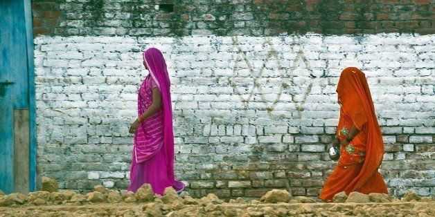 TO GO WITH India-health-women-crime-social,FOCUS BY ABHAYA SRIVASTAVA In this photograph taken on August 31, 2014, Indian re