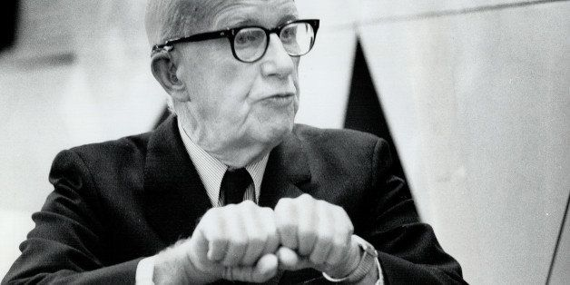 CANADA - JANUARY 04:  Remembering when Bucky Fuller dropped by to talk poetry. One small man with such an enormous mind.   (P