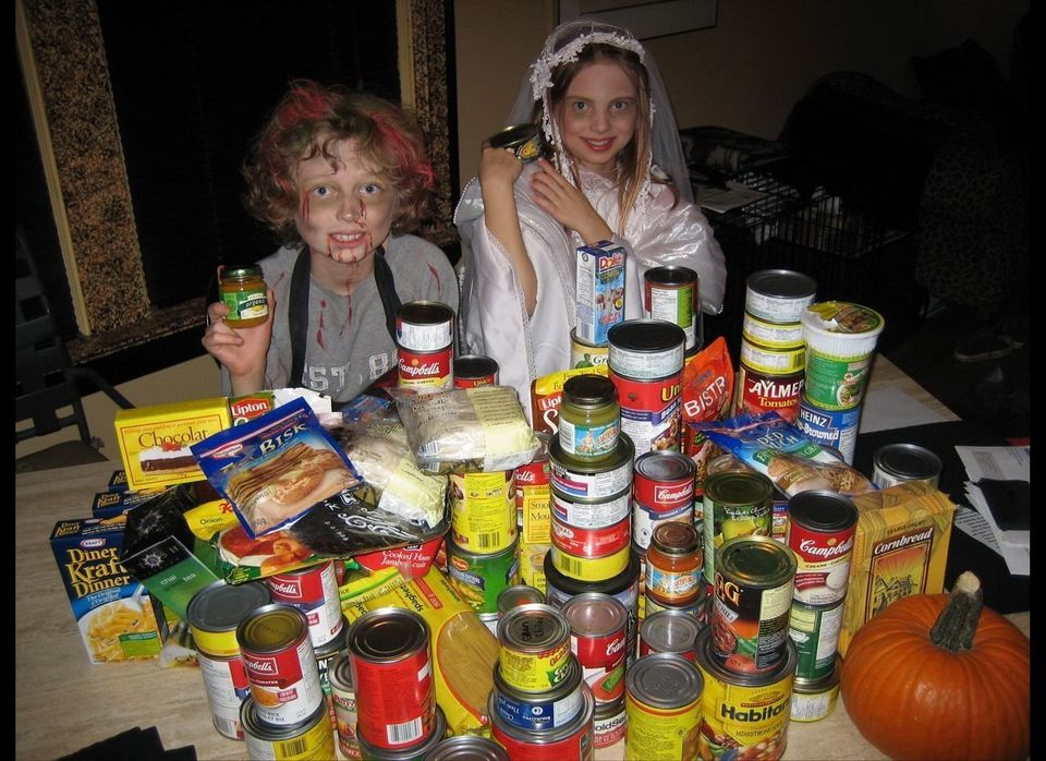 Every Halloween night, youth around the world take action to fight local hunger and poverty by participating in Free The Chil