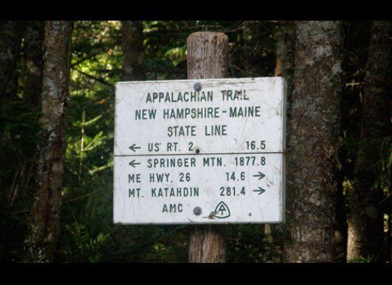Get back to nature along the Appalachian Trail, a 2,180-mile stretch that passes through 14 states, running from Georgia's Sp