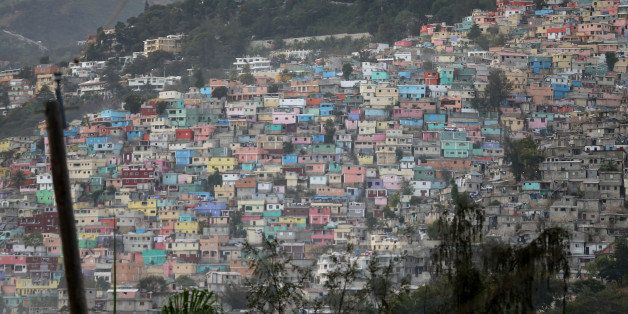 PORT-AU-PRINCE, HAITI - JANUARY 11:  Homes dot the hillside a day before the five year anniversary of a magnitude 7.0 earthqu