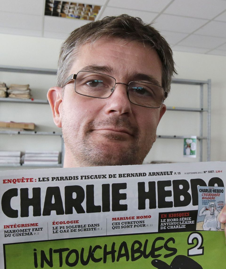 The most famous of the cartoonists, as well as the publisher and editor of Charlie Hebdo.