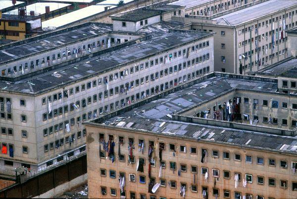 Bizzarri was given rare access to Rio's Talavera Bruce women's prison along with Sao Paulo's most infamous penitentiaries.