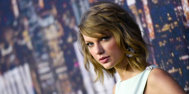 FILE - In this Feb. 15, 2015 file photo, singer Taylor Swift attends the SNL 40th Anniversary Special in New York. Swift has