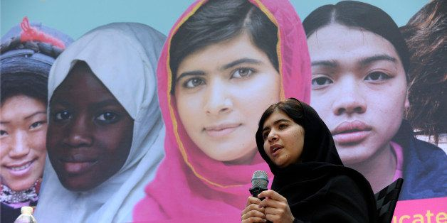Malala Yousafzai, the 16-year-old girl from Pakistan who was shot in the head by the Taliban last October for advocating educ