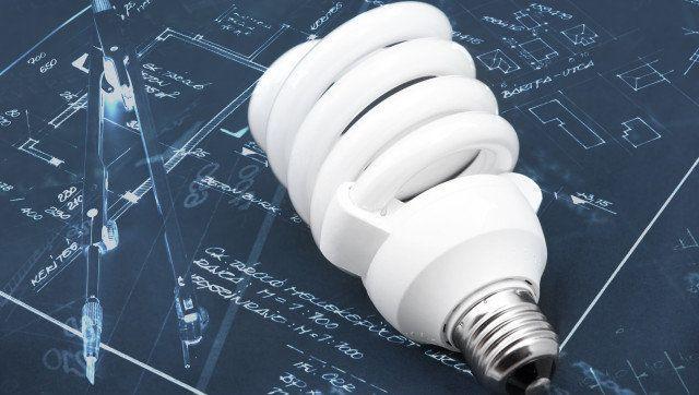energy efficient light bulb...