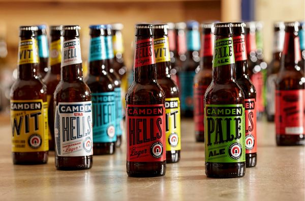 """Smuggled away underneath the arches of Kentish Town West Overground station, <a href=""""http://www.camdentownbrewery.com/"""" targ"""