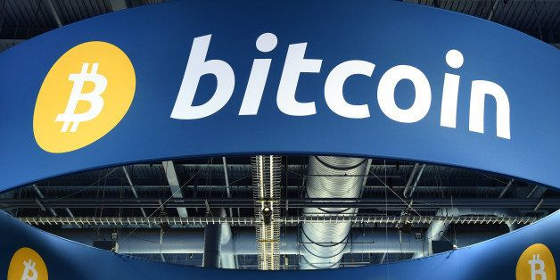 LAS VEGAS, NV - JANUARY 08: A general view of the Bitcoin booth at the 2015 International CES at the...