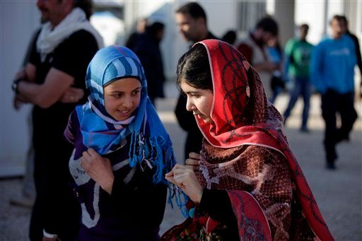 """Malala said at this year's Clinton Global Initiative that <a href=""""http://www.malala.org/"""" target=""""_blank"""">her fund</a> is <a"""