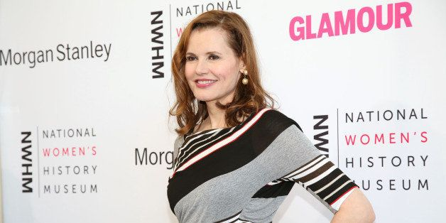 Geena Davis arrives during the 3rd Annual Women Making History Event at the Skirball Cultural Center on Saturday, Aug. 23, 20