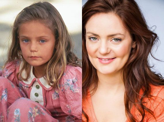 """Hanna Hall also made her acting debut in """"Forrest Gump"""" as the adorable young Jenny. Since she's had parts in """"The Virgin Sui"""