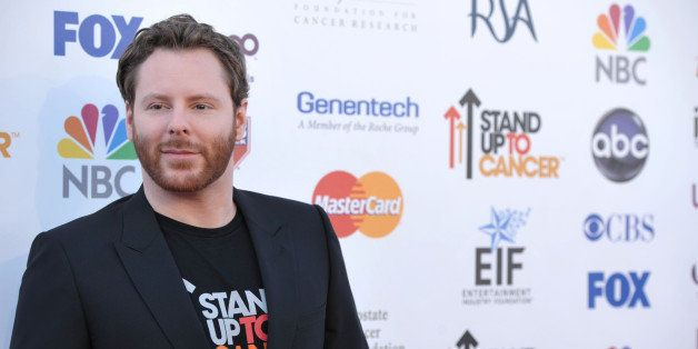 "Sean Parker attends ""Stand Up to Cancer"" at the Shrine Auditorium on Friday, Sept. 7, 2012 in Los Angeles. The initiative aim"