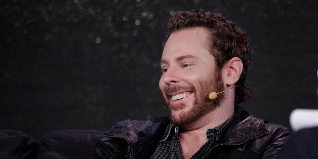 Sean Parker, Chairman of of Causes and a Managing Partner, Founder's Fund, speaks at Web. 2.0 Conference in San Francisco, Mo