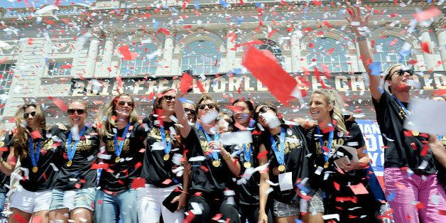 Photo by: Dennis Van Tine/STAR MAX/IPx 7/10/15 New York City Celebrates The Women's World Cup Winners with Parade of Champion