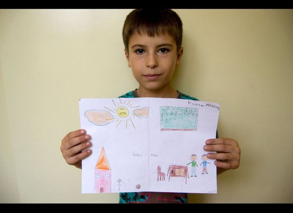 More than 550,000 Syrian children in Lebanon are out of school. (Jacquelyn Pavilon — Jesuit Refugee Service)