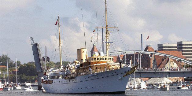 Crown Prince Frederik & Crown Princess Mary Of Denmark Visit Sonderborg During A 4-Day Trip On The Royal Yacht Dannebrog. (Ph