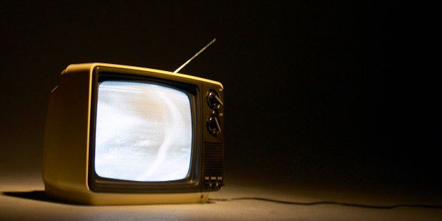 Old-fashioned tv