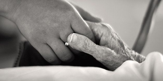 Alzheimer's, the most important part of communication with Alzheimer patients and providing comfort is touch.