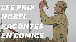 Les prix Nobel racontés en comics, depuis leur