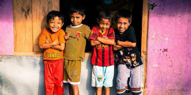 Children at play, Manado, Indonesia. Credit: Ben Pederick, Good Morning Beautiful Films.