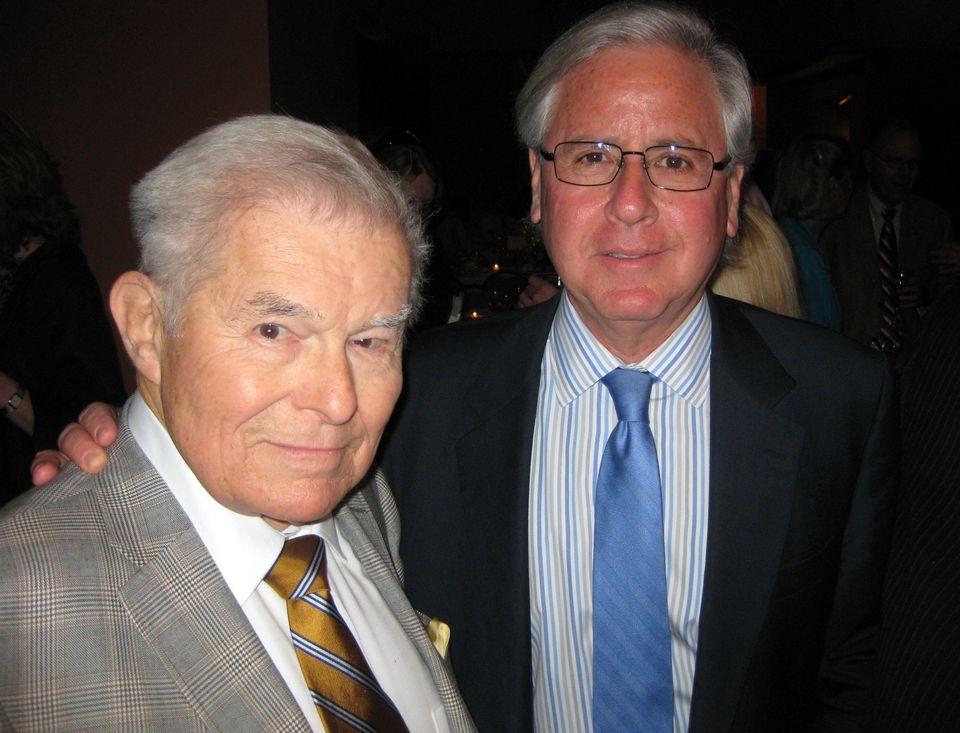 Al Smith and Howard Fineman.  Longtime friends