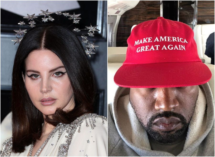 Lana Del Rey Slates Kanye West After Latest Pro-Trump Instagram